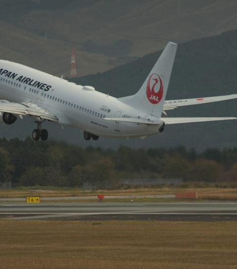 300mm望遠で熊本空港